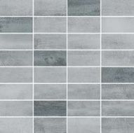 FLOORWOOD GREY-GRAPHITE MIX MOSAIC 29x29,5 gat 1