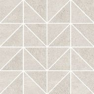 KEEP CALM GREY TRIANGLE MOSAIC MATT  29 x 29